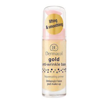 Dermacol Gold Anti-Wrinkle Base odmładzająca baza pod makijaż 20ml