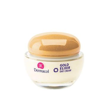 Dermacol Gold Elixir Rejuvenating Caviar Day Cream odmładzający krem na dzień z kawiorem 50ml