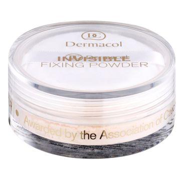 Dermacol Invisible Fixing Powder utrwalający puder transparentny Light 13g