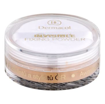 Dermacol Invisible Fixing Powder utrwalający puder transparentny Natural 13g