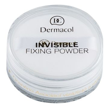 Dermacol Invisible Fixing Powder utrwalający puder transparentny White 13g