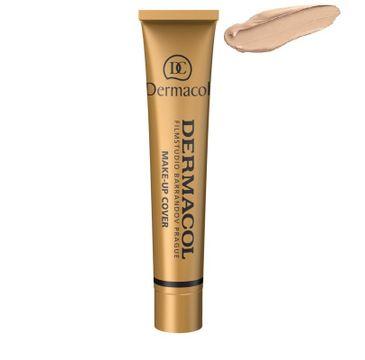 Dermacol Make-Up Cover wodoodporny podkład mocno kryjący 210 SPF30 30g