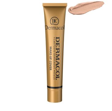 Dermacol Make-Up Cover wodoodporny podkład mocno kryjący 212 SPF30 30g