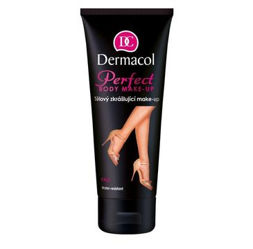Dermacol Perfect Body Make-Up wodoodporny samoopalacz do ciała Pale 100ml