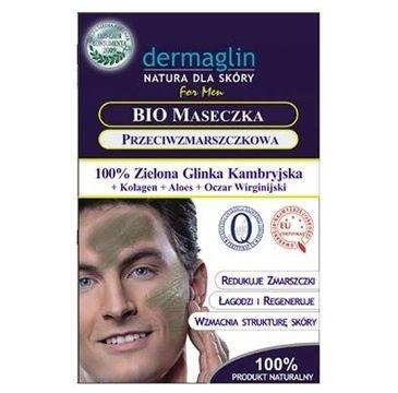 Dermaglin – maseczka przeciwzmarszczkowa dla mężczyzn (1 szt.)