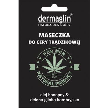 Dermaglin – maseczka dla mężczyzn z olejem konopnym (20 g)