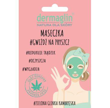 Dermaglin – maseczka do twarzy oczyszczająca  Gwiżdż na pryszcz (20 g)