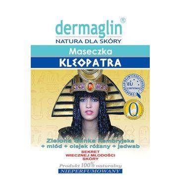 Dermaglin – maseczka oczyszczająca Kleopatra (1 szt.)