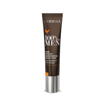 Dermika 100% for Men krem pod oczy przeciwzmarszczkowy 15 ml