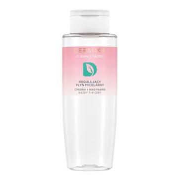 Dermika Clean&More Regulujący płyn micelarny cykoria + niacynamid każdy typ cery (400 ml)