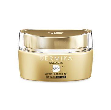 Dermika Gold 24k Total Benefit 45+ krem-eliksir młodości na dzień i noc 50 ml