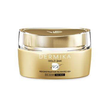 Dermika Gold 24k Total Benefit 65+ krem-rekonstruktor młodości na dzień i noc 50 ml