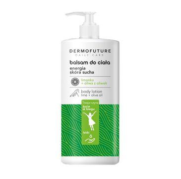 DermoFuture – Daily Care Balsam do ciała Energia z limonką i oliwą z oliwek do skóry suchej (480 ml)