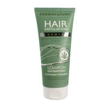 Dermofuture Precision Hair Exfoliation Szampon enzymatyczny peelingujący 200 ml