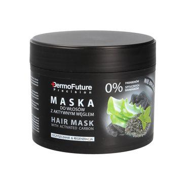 Dermofuture Precision maska do włosów z aktywnym węglem 300 g