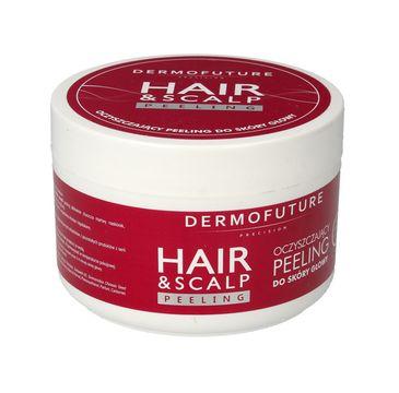 Dermofuture Precision Oczyszczający peeling do skóry głowy Hair & Scalp 300 ml