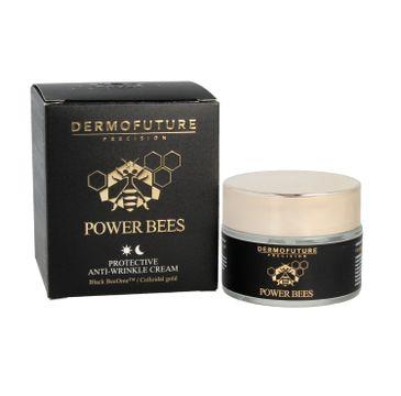 Dermofuture Precision Power Bees Krem ochronny przeciwzmarszczkowy na dzień i noc 50 ml