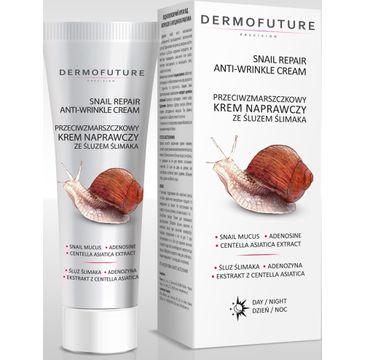 Dermofuture Precision Przeciwzmarszczkowy Krem naprawczy ze śluzem ślimaka 30 ml
