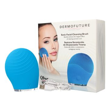 DermoFuture Szczoteczka soniczna do oczyszczania twarzy 1 szt.