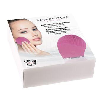 Dermofuture Technology szczoteczka soniczna do oczyszczania twarzy różowa 1 szt.