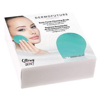 Dermofuture Technology szczoteczka soniczna do oczyszczania twarzy zielona 1 szt.