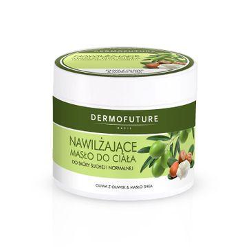 DermoFuture – Nawilżające Masło do Ciała Skóra Sucha i Normalna (300 ml)