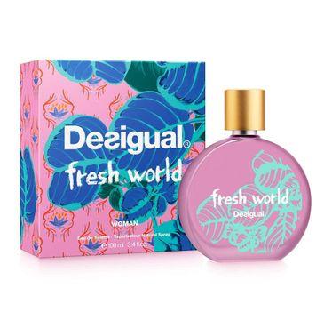 Desigual Fresh World Woman woda toaletowa spray 100ml