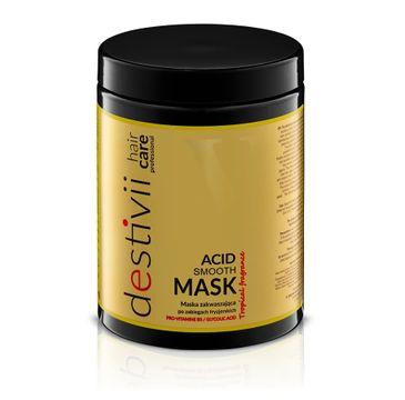 Destivii Acid Smooth Mask maska zakwaszająca do włosów po zabiegach fryzjerskich (1000 ml)