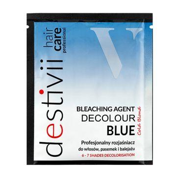 Destivii Destiny Decolour Blue profesjonalny rozjaśniacz do włosów pasemek i balejażu (40 g)