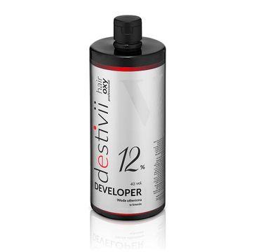 Destivii Hair Oxy Classic Developer woda utleniona w kremie 12% (1000 ml)