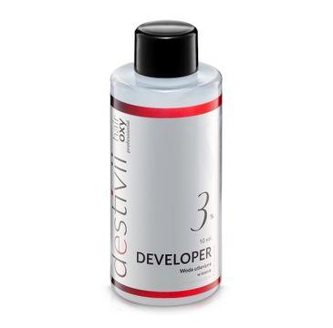 Destivii Hair Oxy Classic Developer woda utleniona w kremie 3% (130 ml)