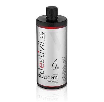 Destivii Hair Oxy Classic Developer woda utleniona w kremie 6% (1000 ml)