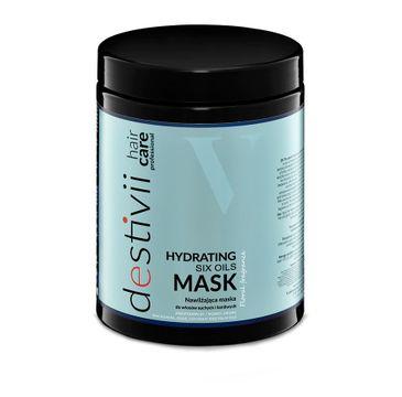 Destivii Hydrating Mask nawilżająca maska do włosów suchych i łamliwych Six Oils (1000 ml)