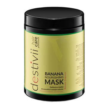 Destivii Nourishing Mask delikatna maska do wszystkich rodzajów włosów Banana (1000 ml)