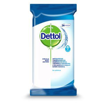 Dettol Antybakteryjne i drożdżakobójcze chusteczki do mycia i dezynfekcji powierzchni Original 36szt