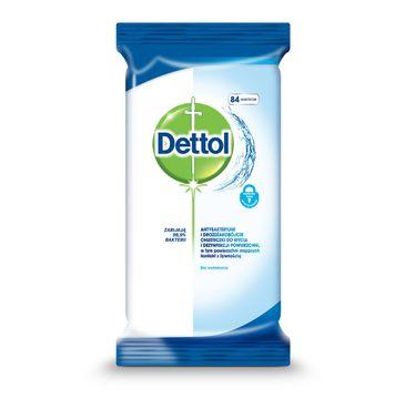 Dettol Antybakteryjne i drożdżakobójcze chusteczki do mycia i dezynfekcji powierzchni Original 84szt