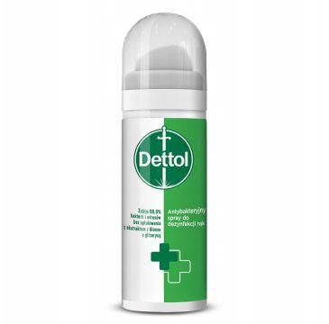 Dettol – Antybakteryjny spray do dezynfekcji rąk (50 ml)