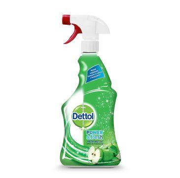 Dettol Power & Fresh wielofunkcyjny spray do powierzchni Zielone Jabłuszko 500ml