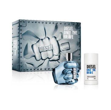 Diesel Only The Brave for Man zestaw woda toaletowa spray 125ml + dezodorant sztyft 75ml