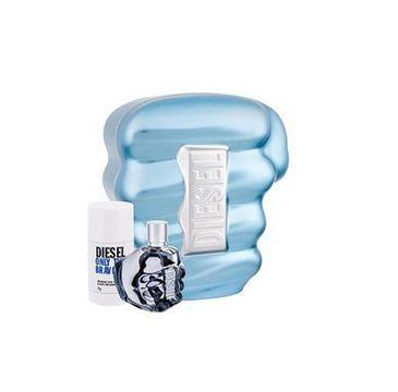 Diesel Only The Brave for Man zestaw woda toaletowa spray 75ml + dezodorant sztyft 75ml