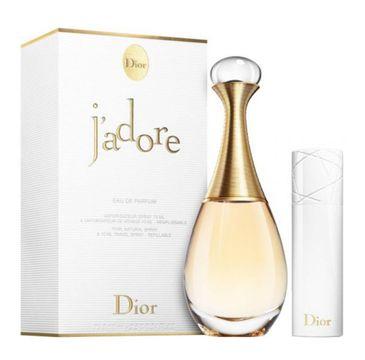 Dior J'adore zestaw woda perfumowana spray 75ml + woda perfumowana spray 10ml (1 szt.)