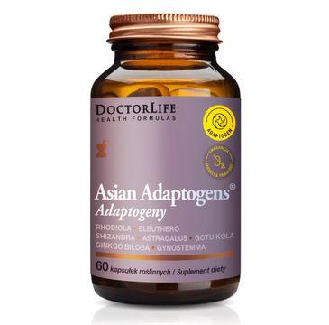 Doctor Life Asian Adaptogens Adaptogeny suplement diety (60 kapsułek)