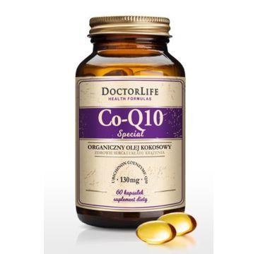 Doctor Life Co-Q10 Special organiczny olej kokosowy 130mg suplement diety 60 kapsułek
