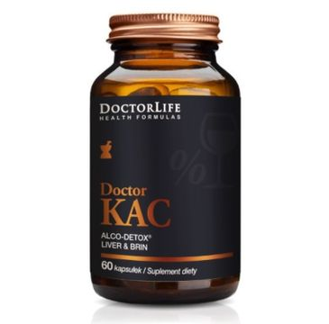 Doctor Life Doctor Kac Alco-Detox suplement diety 60 kapsułek