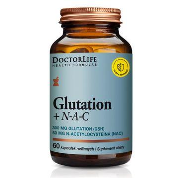 Doctor Life Glutation + N-A-C suplement diety wspomagający wątrobę (60 kapsułek)