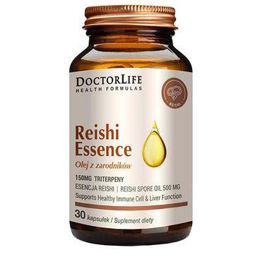 Doctor Life Reishi Essence olej z zarodników suplement diety (30 kapsułek)