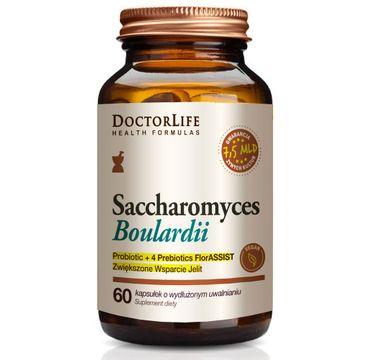 Doctor Life Saccharomyces Boulardii suplement diety wspierający jelita (60 kapsułek)