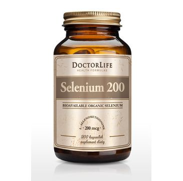 Doctor Life Selenium 200 suplement diety 200 kapsułek