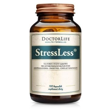 Doctor Life StressLess na stres i stany lękowe suplement diety 100 kapsułek