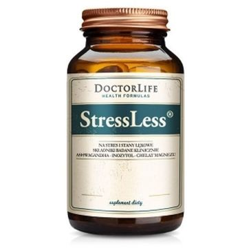 Doctor Life StressLess na stres i stany lękowe suplement diety 60 kapsułek
